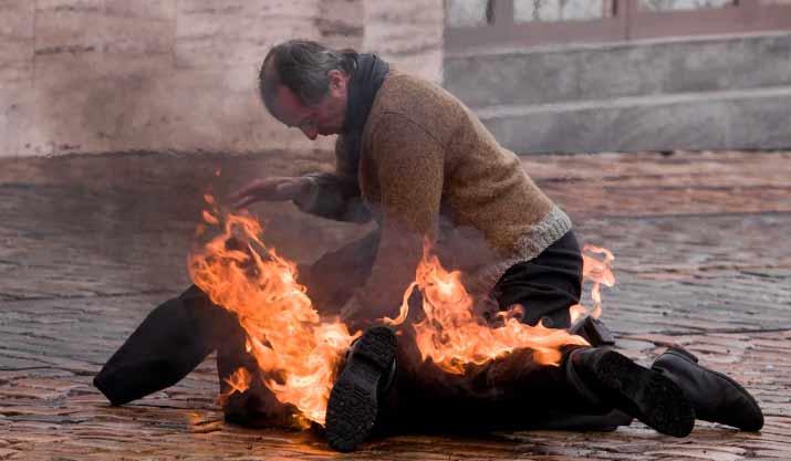 Что делать, если на человеке загорелась одежда? post thumbnail